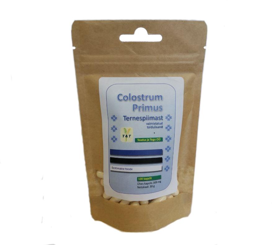 Colostrum Primus 100 – ternespiima pulbri kapslid