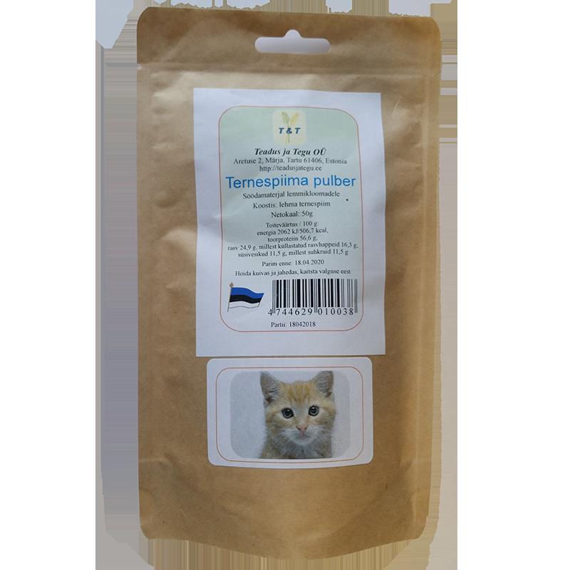 Ternespiima pulber lemmikloomadele 50 g