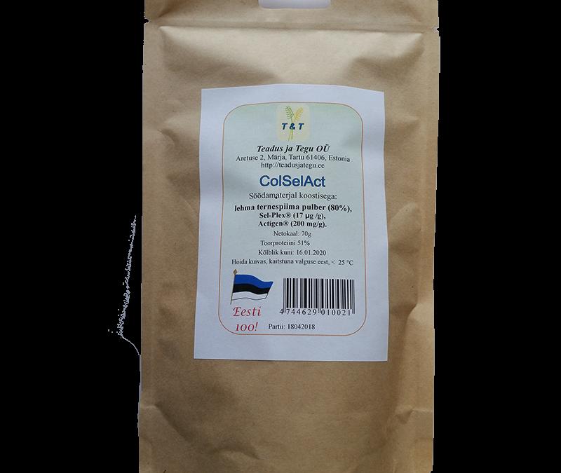ColSelAct – lehma ternespiima pulber vasikatele